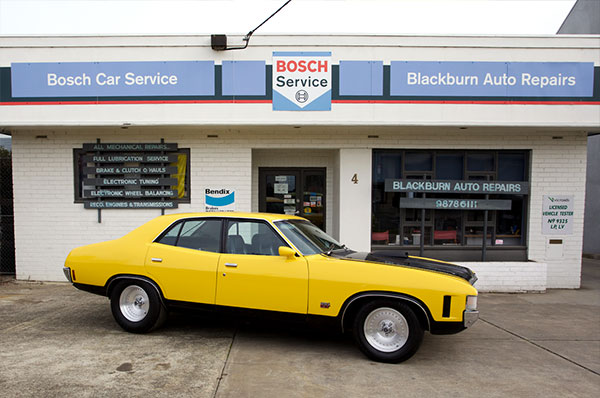 Yellow Car Servicing