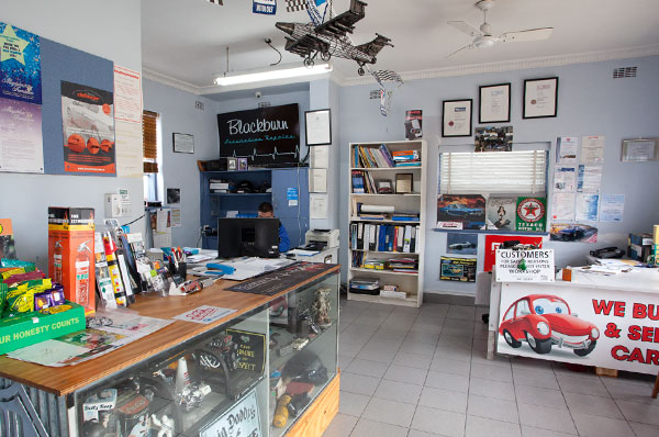 Blackburn Automotive Repairs Shop